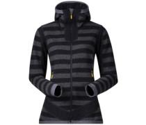 Hollvin Wool Fleece Jacket soliddarkgr