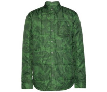 Bryce Insulated Shirt Jacket forest green marble