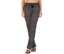 Tropic Tribe Pants black