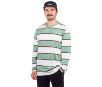 Primo Stripe Long Sleeve T-Shirt teal