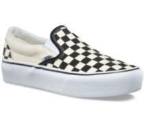 Checkerboard Classic Platform Slippers w