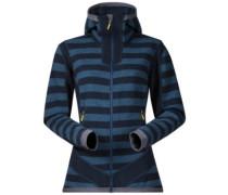 Hollvin Wool Fleece Jacket steelblue