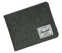 Roy + Coin RFID Wallet black crosshatch