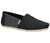 Alpargata Slippers grey heather wool
