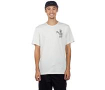 Spilt T-Shirt off white