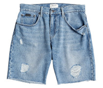 High Water Shorts blue rip