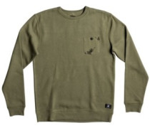Cappell Crew Sweater vintage green