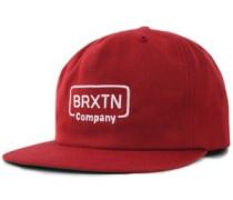 Crosswhite Snapback Cap brick