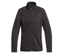 Harmony Shimmer Fleece Jacket true black