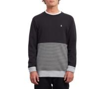 Threezy Crew Sweater black