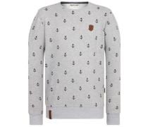 Fuck Being Modest Sweater grey melange