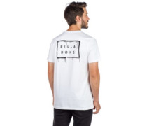 Die Cut Theme T-Shirt white