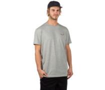 Stoned Emb T-Shirt grey melange