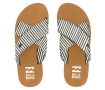 Boardwalk Sandals black white