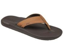 Contoured Cushion Sandals brown
