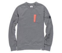 Willy Crew Sweater mid grey htr