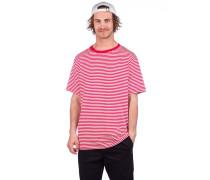 Ranked Striped T-Shirt white