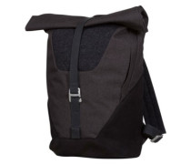 Oslo Roll-Top 10-23L Day Backpack black