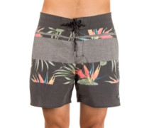 "Retro Rapture Mixer 16"" Boardshorts black"