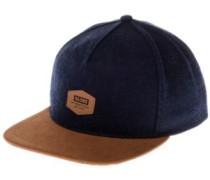 Woodford Snap Back Cap indigo