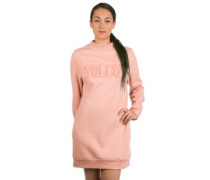 Burn City Fleece Dress mellow rose