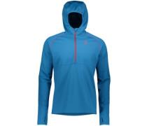 Defined Mid Fleece Pullover mykonos blue