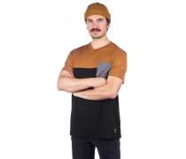 Block Pocket 2 T-Shirt cara black