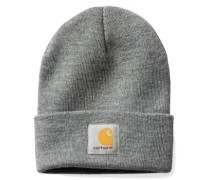 Short Watch Beanie dark grey heather