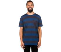 Merino Harvey Pocket T-Shirt ink stripe