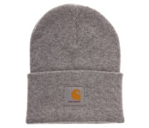 Acrylic Watch Beanie grey heather
