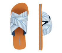 Ditsy Slide Sandals walton blue