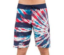 Peace Stone Mod 20 Boardshorts true blue