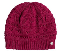 Girl Challenge Beanie persian red