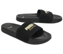 Leadcat Suede Slide Sandals team gold