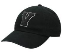 Court Side Cap washed black