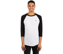 Triangle Raglan T-Shirt LS white