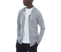 Core Basics Knit Zip Hoodie concrete heather