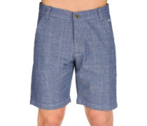 Miami Chino Shorts indigo chambray