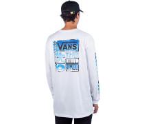AVE Chrome Long Sleeve T-Shirt white