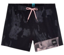 Textured Boardshorts black aop