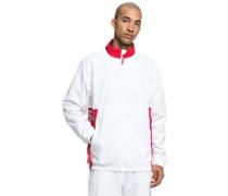 Skate Track Top Jacket white