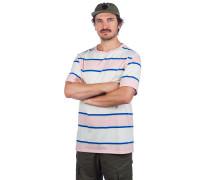 Totally Stripe T-Shirt crystal rose