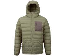 Evergreen Down Hooded Insulator Jacket falcon