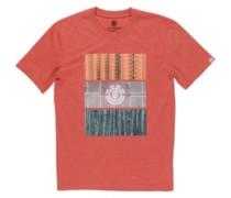 Parallel T-Shirt aurora red heather