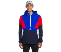 Get Down Pull Up Jacket navy red