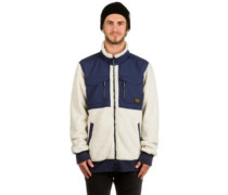 Bower Fleece Jacket bone white