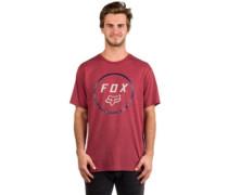 Settled Tech T-Shirt heather burgundy