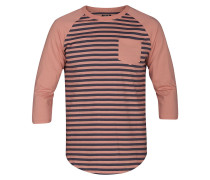 Gunwhale 3/4 Crew Long Sleeve T-Shirt rust pink