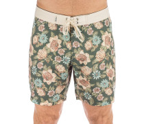 Cosmic Sofa Boardshorts worn indigo