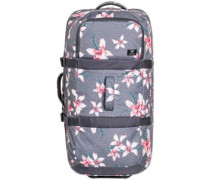 Long Haul 2 Travelbag charcoal heather flower f